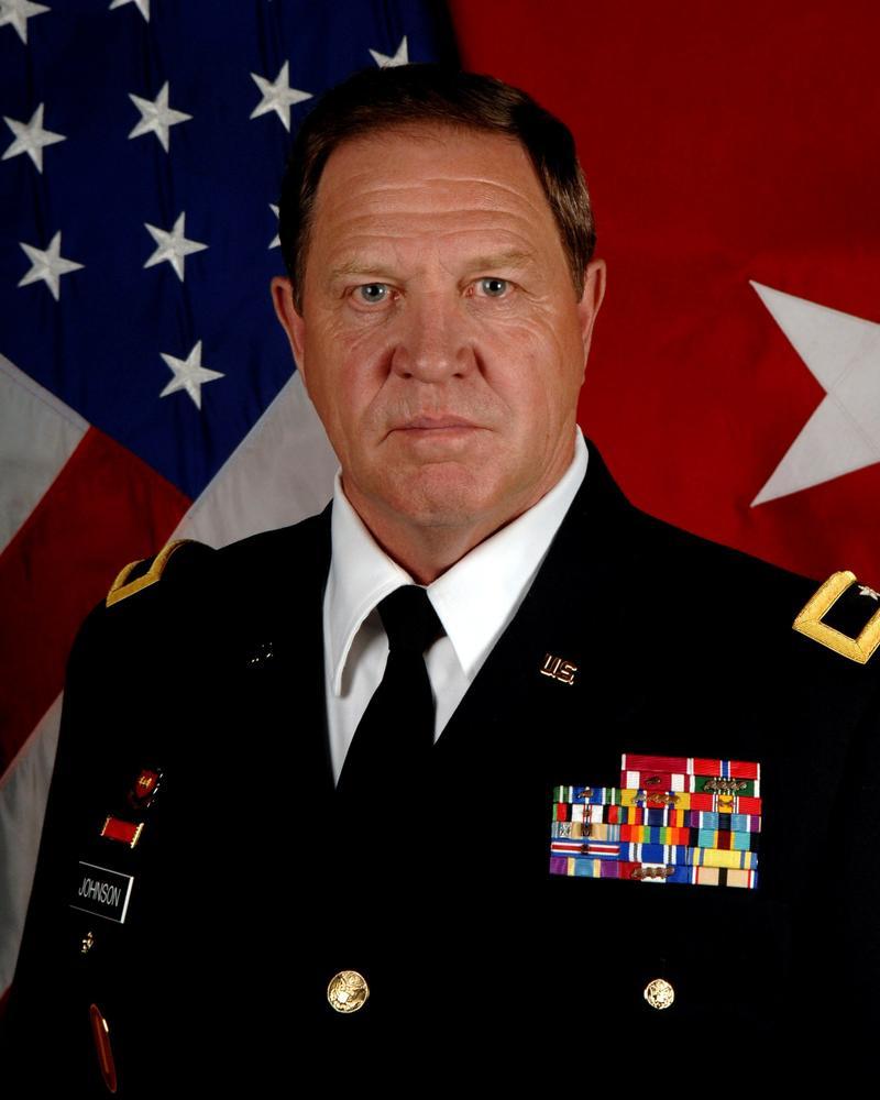 Dakota Midday Retired Army Brigadier General Ted Johnson